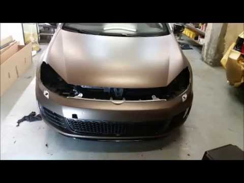 golf 6 gti foliert by kingside cars youtube. Black Bedroom Furniture Sets. Home Design Ideas