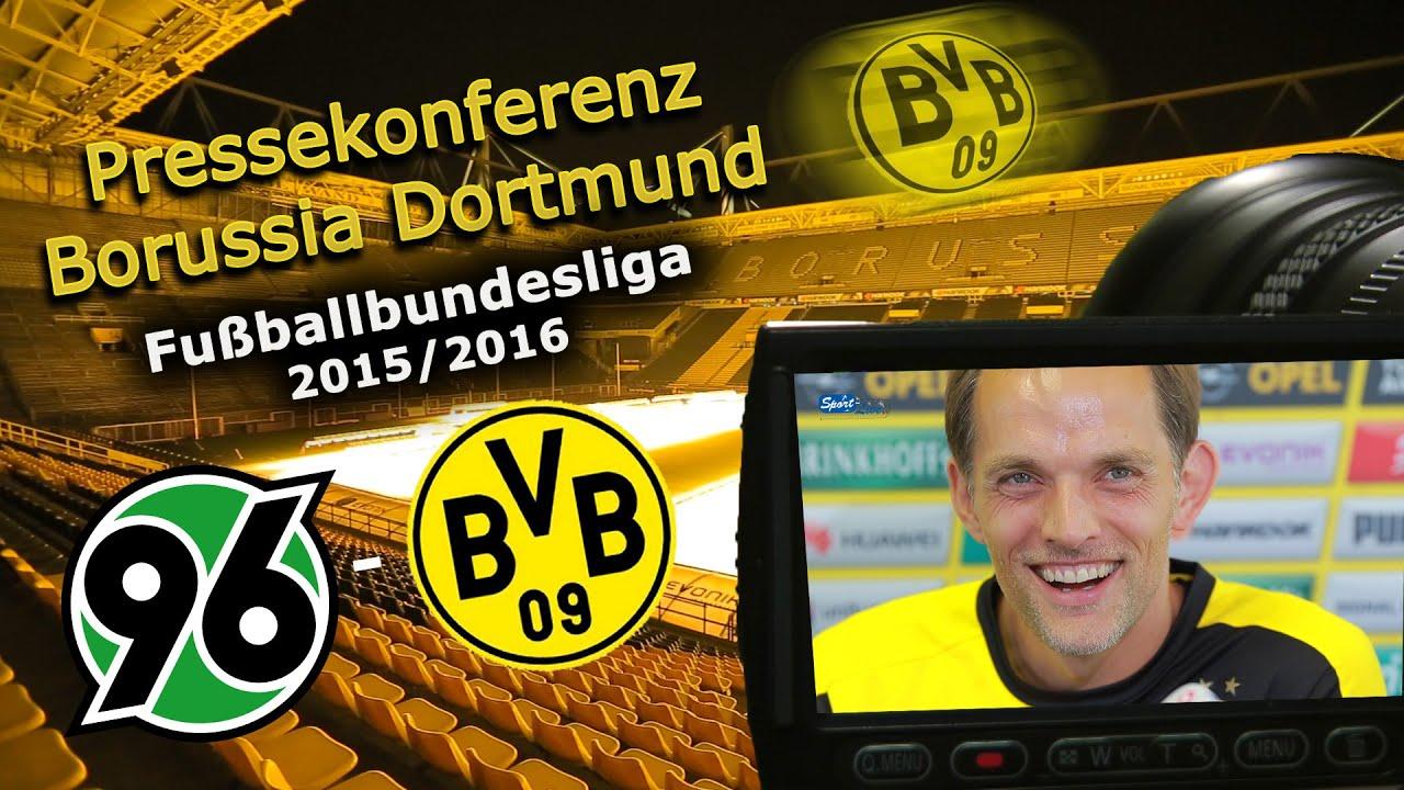 Hannover 96 - Borussia Dortmund: Pressekonferenz mit Jonas Hofmann und Thomas Tuchel