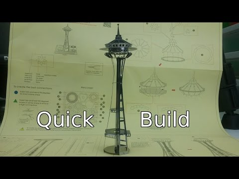 Quick Build - Seattle Space Needle