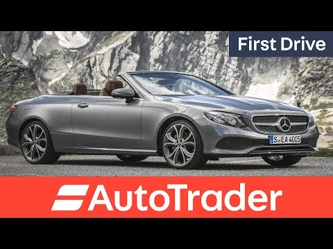 Mercedes Benz E Class Cabriolet 2017 first drive review