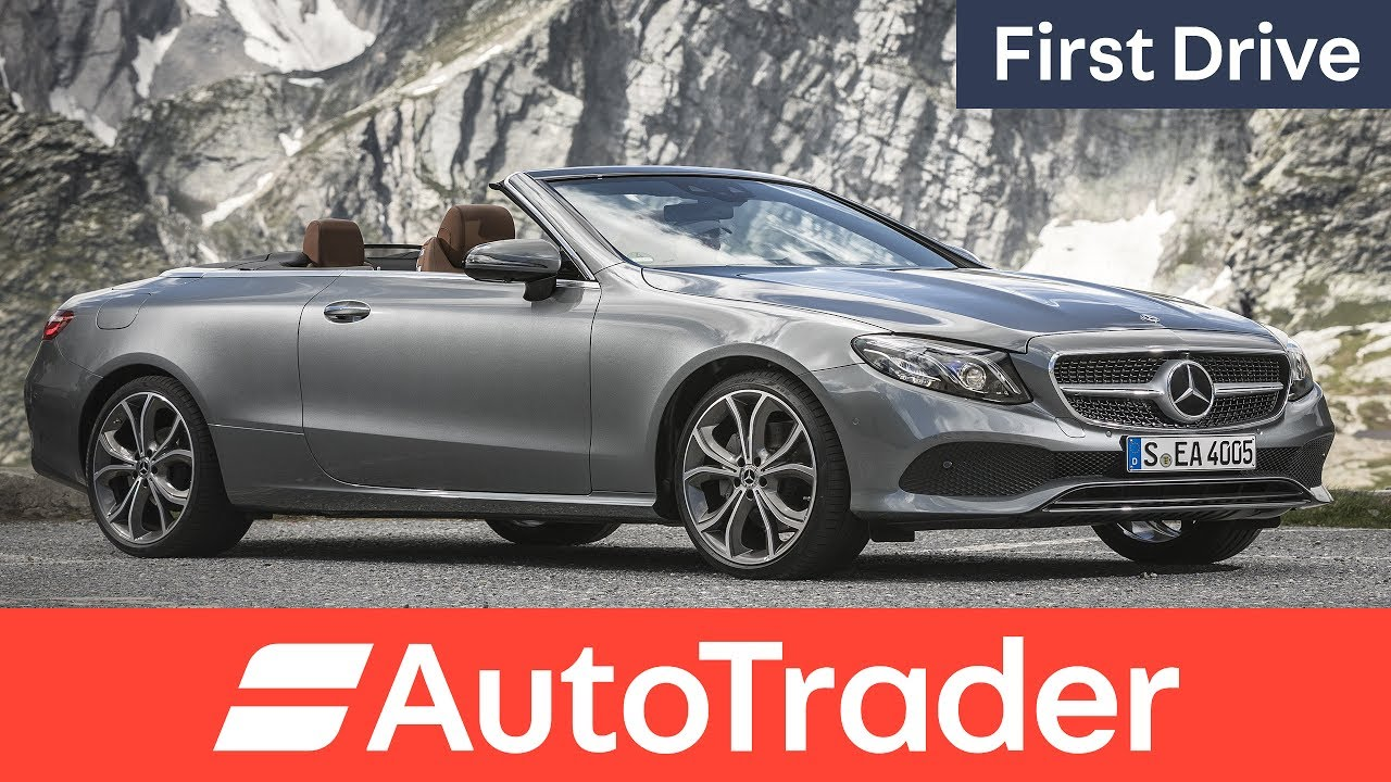 Mercedes Benz E Class Cabriolet 2017 First Drive Review Youtube