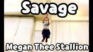 Megan Thee Stallion Savage lyric video cartoon dancer choreography Siren TV