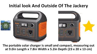 Your Guide To Poẁer Banks: The Jackery 240 Portable Solar Charger Review
