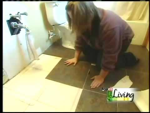DIY Bathroom Floor