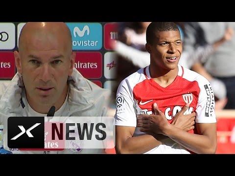 Zinedine Zidane: 'Kylian Mbappe wäre fast zu uns gewechselt' | Real Madrid