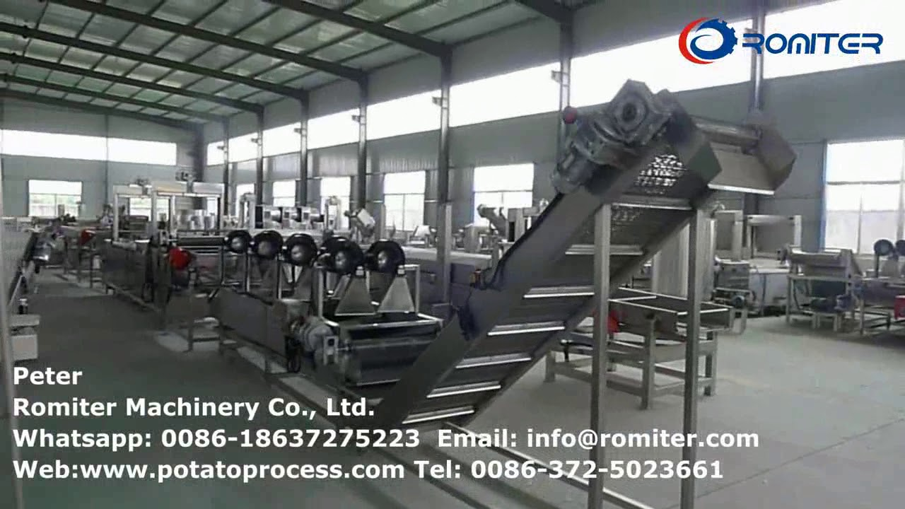 Romiter Group Food Processing Machine Factory Tour for Potato, Onion,  Ginger, Garlic