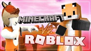 MINECRAFT SKYBLOCK IN ROBLOX??? - Roblox Vs Minecraft