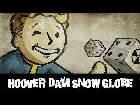 Fallout New Vegas Snow Globe Hoover Dam