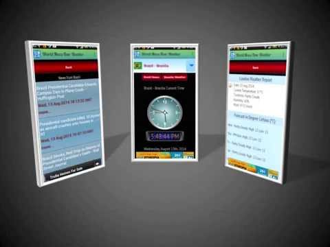 World News Timezone and Weather at Amazone App Store