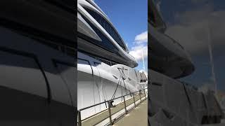 Mega Yacht AL LUSAIL Luerssen Shipyard