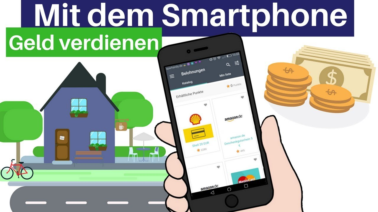 mit apps geld verdienen 2018 meine top 5 apps zum geld verdienen f r android ios youtube. Black Bedroom Furniture Sets. Home Design Ideas