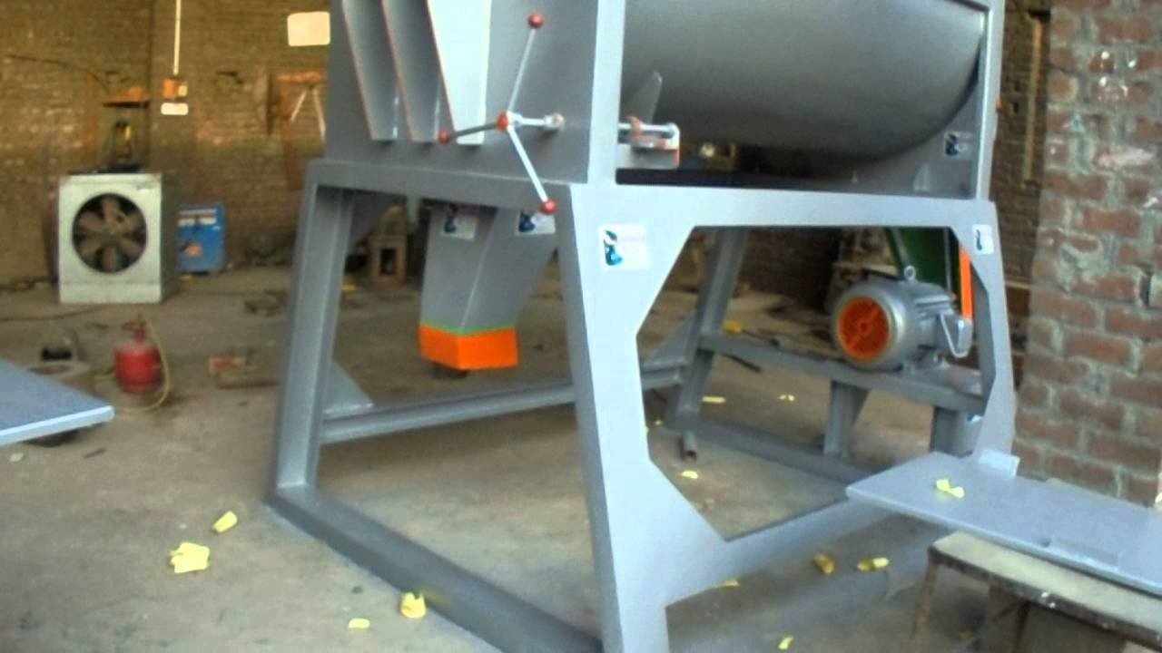 mixer machine one Ton capacity per hour video pakistan