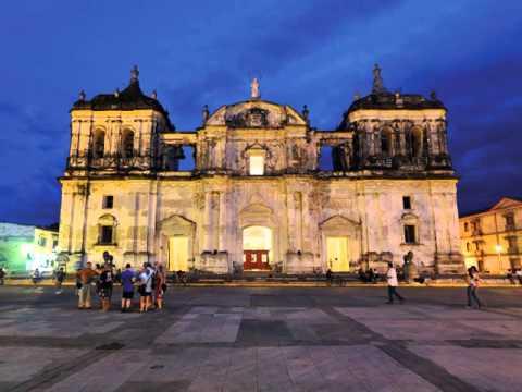 Managua , city in Nicaragua ,shore of Lake Xolotlán or Lake Managua
