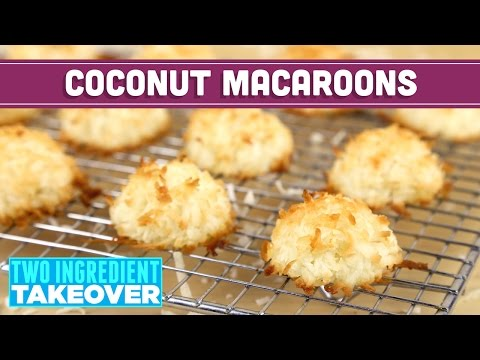 healthy-coconut-macaroons!-2-ingredients!-two-ingredient-takeover-mind-over-munch