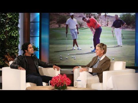 Kunal Nayyar's Awesome Golf Story