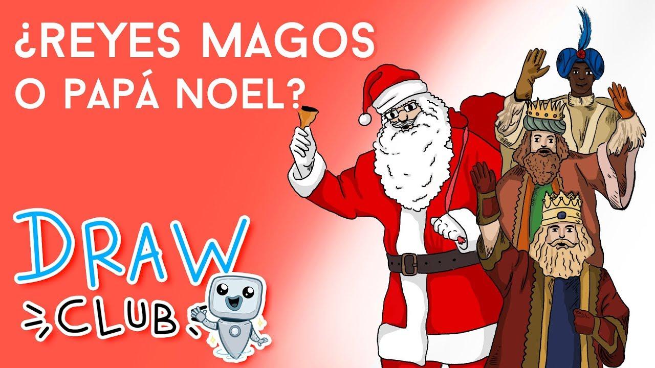 REYES MAGOS vs PAPÁ NOEL - Draw My Life