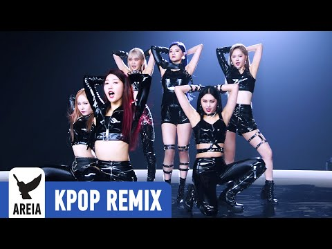 KPOP REMIX | EVERGLOW - LA DI DA (Areia Kpop Remix #405)