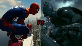 Spider-Man Vs Batman Arkham Knight: Combat & Fighting Comparison Showcase