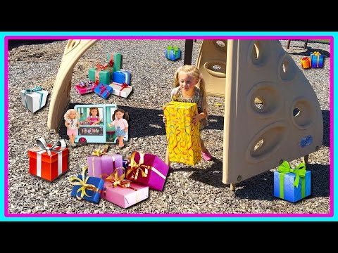 Ice Cream Truck Toy For American Girl, Our Generation Dolls Surprises At The Playground Park