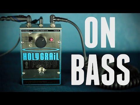 EHX Holy Grail [Bass Demo]