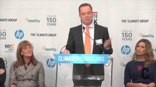 Harry Verhaar, Head of Global Public & Government Affairs, Philips Lighting at Climate Week NYC 2013