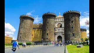 Placess to see in ( Naples - Italy ) Castel Nuovo - Maschio Angioino