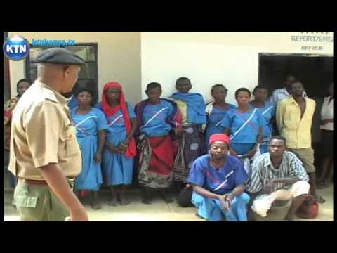 Suspected witches arrested