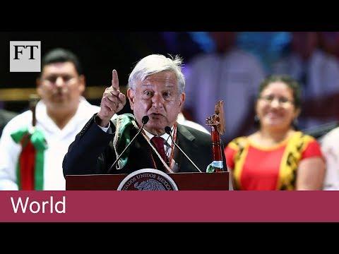 Andrés Manuel López Obrador sworn in as Mexican president