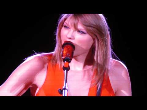 Taylor Swift Red Tour Perth, Intro to mean includes birthday song
