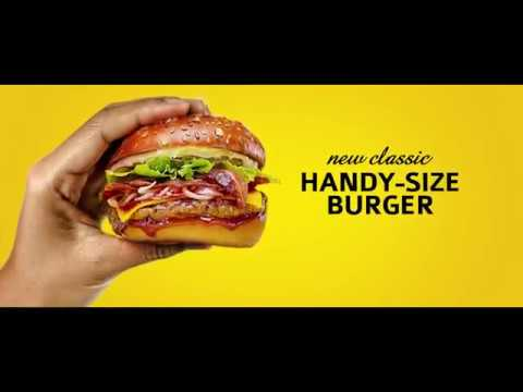 Classic Burger Joint - Handy Size Burger : The Gym Scene