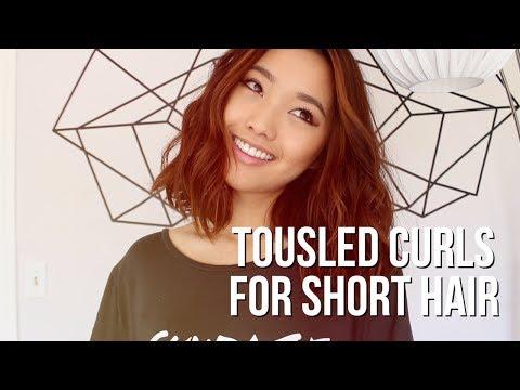 How I Curl My Short Hair