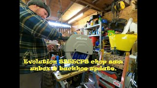 Evolution S355CPS unbox and update on the backhoe build