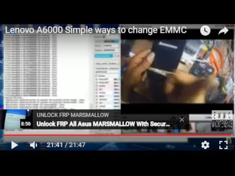 Lenovo A6000 Simple ways to change EMMC