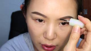 Simple makeup for photo shoot plus how to use fingers to do eye makeup Thumbnail