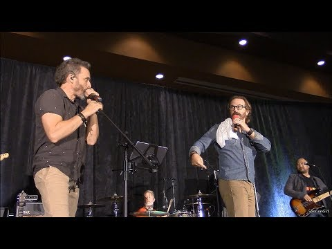CharCon Between the Panels Richard Speight Jr. and Rob Benedict 2018 Supernatural