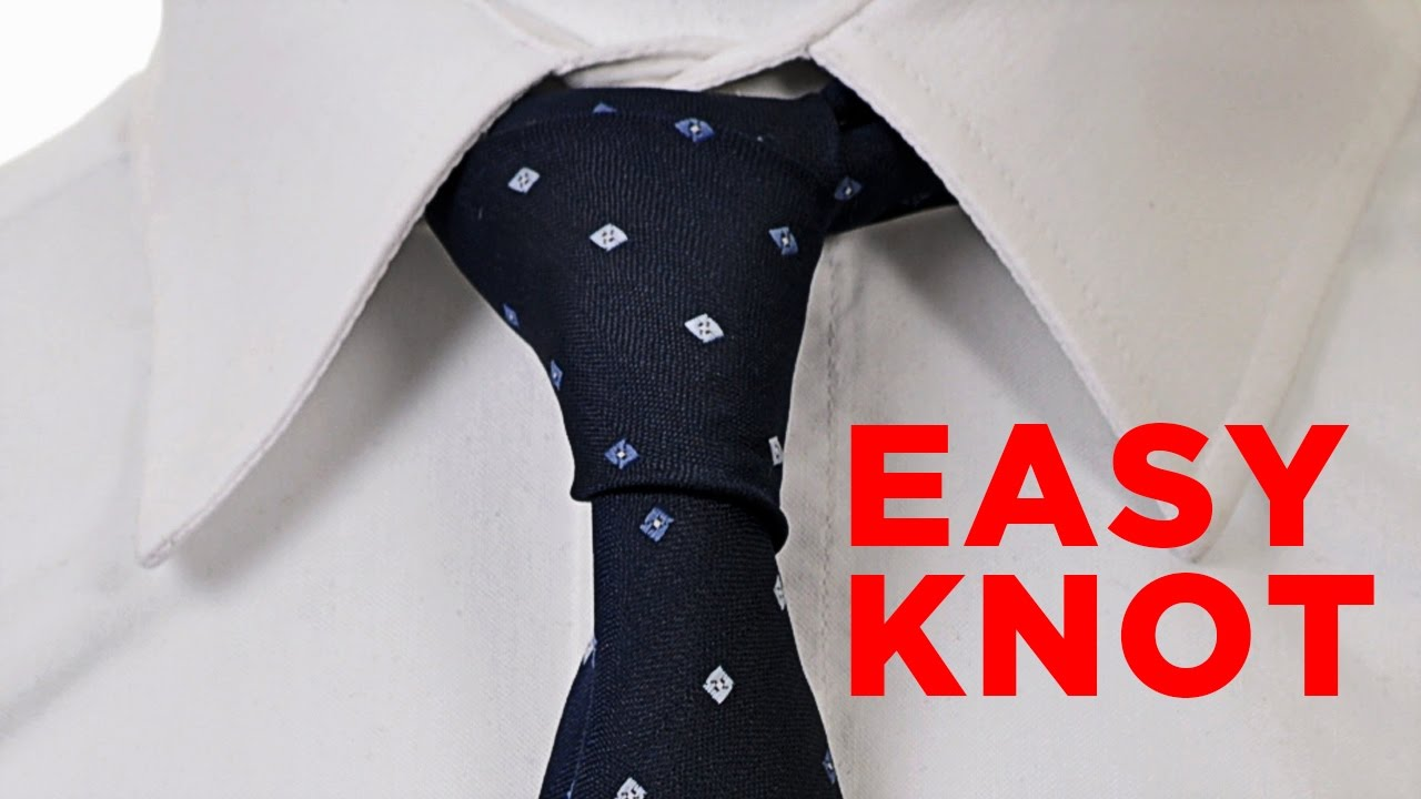 How To Tie A Tie *four In Hand* [the Easiest Tie Knot!]
