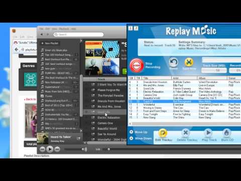 Recording Music from Spotify and Sharemyplaylist.com with Replay Music