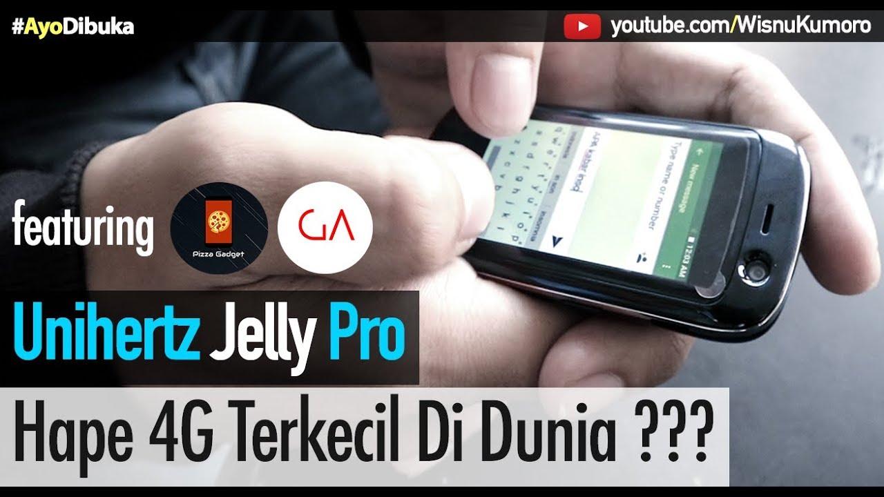 Unihertz Jelly Pro Smartphone 4g Lte Terkecil Di Dunia With Pizza