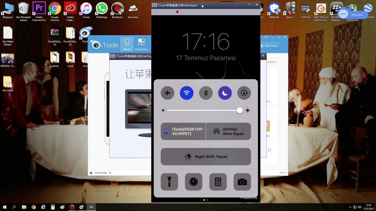iTools Kullanma Rehberi (2017) Ders 2 # AirPlayer (Ekran Yansıtma)