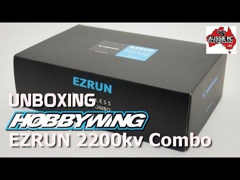 Unboxing: HOBBYWING EzRun Max8 2200kv Brushless Combo