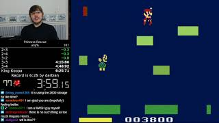 (6:24) Princess Rescue any% speedrun *World Record*