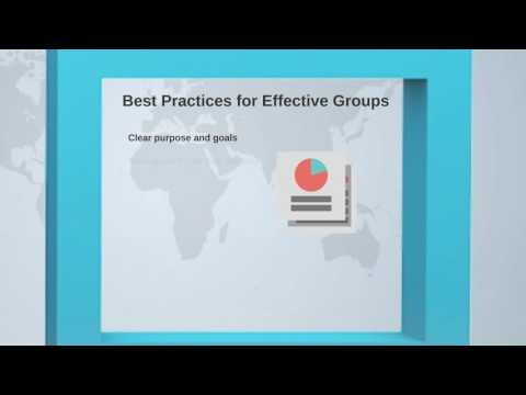 How to Design Effective Online Group Projects