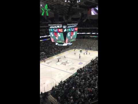 Dallas Stars vs Calgary Flames 2nd Goal