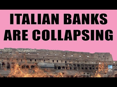 Italy Has 110 Banks At RISK OF FAILURE! This Could Easily COLLAPSE the Entire Global System!