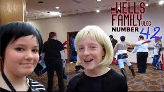 SHUMATSUCON ANIME CON + ACOUSTIC GIG | Episode 42 | THE WELLS FAMILY VLOG