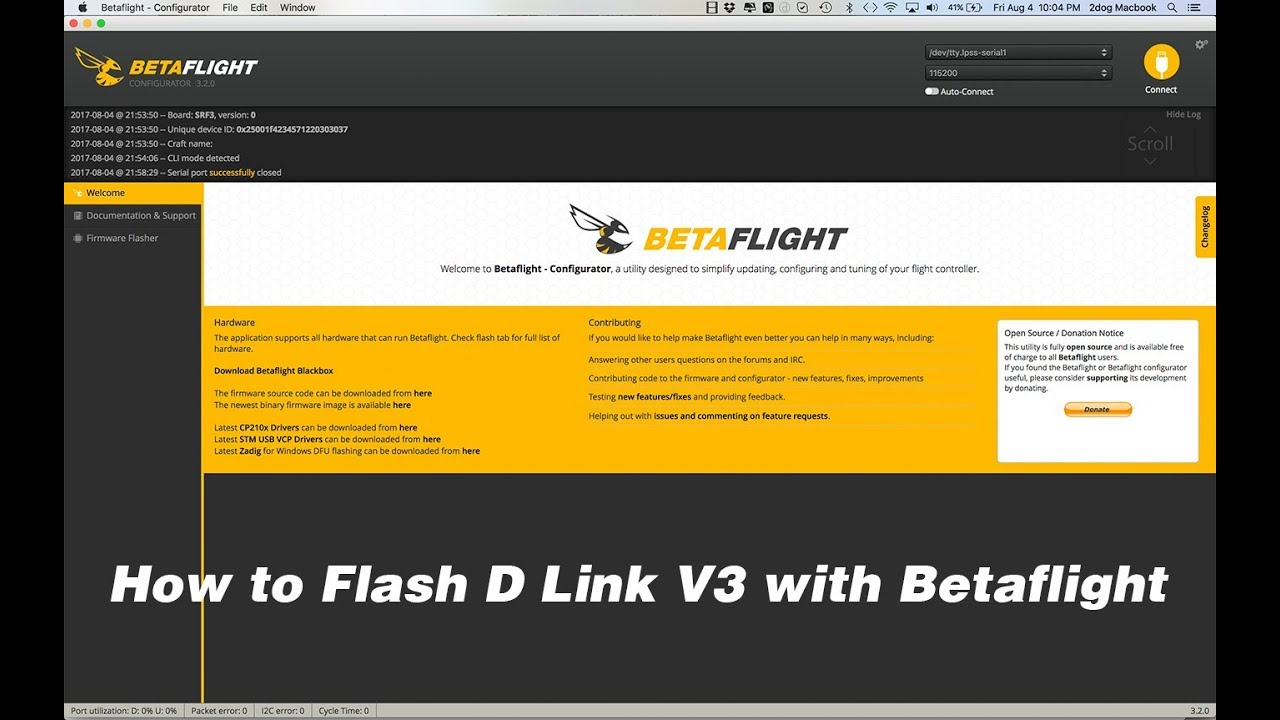 How to flash D-Link
