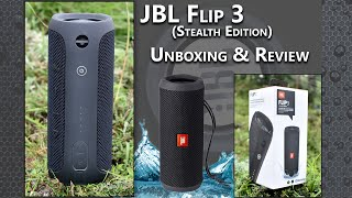 JBL Flip 3 (Stealth Edition) - Unboxing & Review!!
