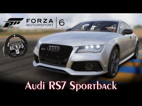 Audi RS7 Sportback! Forzavista e Top Speed | Forza Motorsport 6 + G920 [PT-BR]