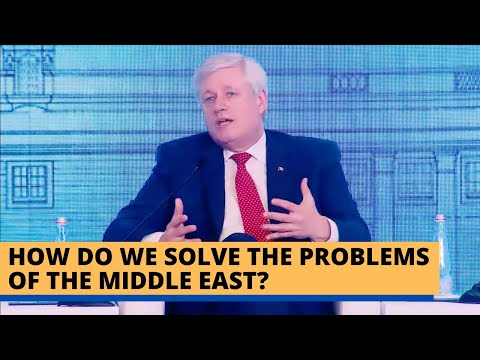 How Do We Solve the Problems of the Middle East?   Stephen Harper #RaisinaThrowback