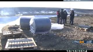 Мирнинском тестируют необычный строительный материал: бетонное полотно(Испытания развернулись на нескольких объектах компании АЛРОСА, в частности на площадке новой взлетно-поса..., 2014-10-10T02:56:35.000Z)